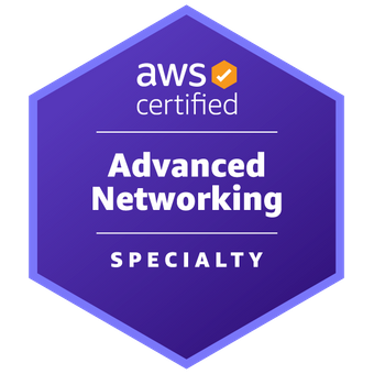 AWS Certified Advanced Networking - Specialty Logo